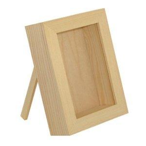 Dřevěná vitrína na dekorování (Dřevěná vitrína)