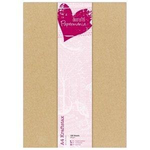 Crafty papíry nature / 100 ks (Papíry na tvorbu)