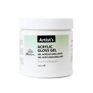 Akrylový lesklý gel 500 ml (Průsvitný lesklý akrylový gel)