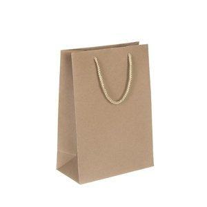 Papírová taška malá 15 x 20 x 7.5 cm (taška z papíru)