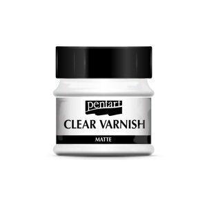 Matný bezbarvý lak Pentart 100 ml (Clear varnish)