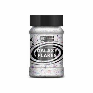 Třpytivé vesmírné vločky Pentart (Galaxy flakes)
