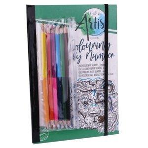 Omalovánka s barvičkami Craft Sensations 40 listová (antistresové)