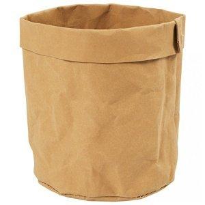 Kulatá taška z umělé kůže na dotvoření (produkt z umělé kůže vhodný na)