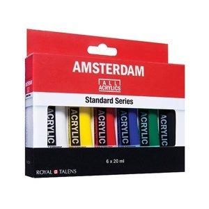 Sada akrylových barev AMSTERDAM Standard Series 6 x 20 ml (sada)