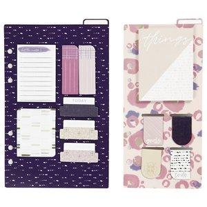 Kreativní set do plánovače - purple (poznámky a záložky)