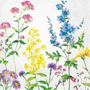 Ubrousky na dekupáž In my Garden - 1 ks (ubrousky na dekupáž)