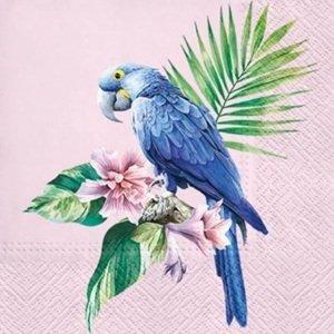 Ubrousky na dekupáž Exotic Parrot - 1 ks (ubrousky na dekupáž)