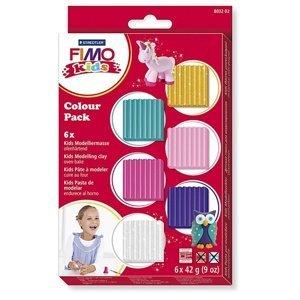 Dětská modelovací hmota FIMO - 6 x 42 g (hlína FIMO pro děti)