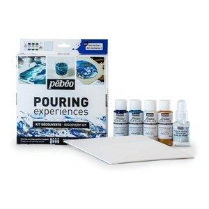 PEBEO sada Pouring experiences Discovery kit (Hotové barvy pro pouring)