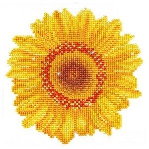 Diamantový obraz - Slunečnice 20 x 20 (diamantové malování)
