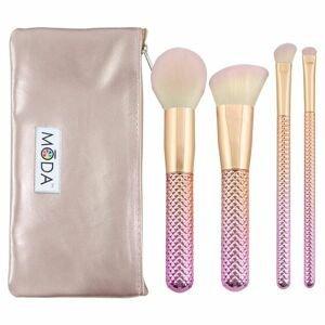 Sada kosmetických štětců Complete Kit Rose 5ks (Sada štětců na make up)