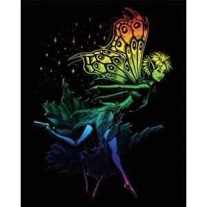 Kreativní set na engraving (rytí) - Tančící víla