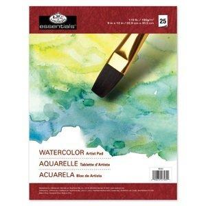 Blok papierov [akvarel] Royal & Langnickel ARTIST PAD / 25 ks (papiere)