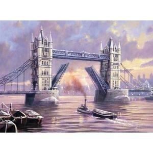 Kreativní set na malování - Tower Bridge A3 (sada na malování podle)
