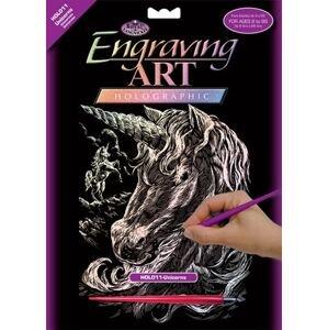 Kreativní set na engraving [rytí] - Jednorožec (sada na engraving Royal)