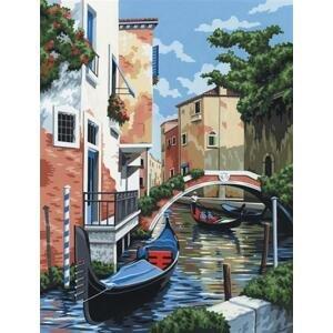 Kreatívna sada na maľovanie podľa čísel – Benátky
