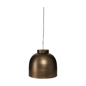 HOUSE DOCTOR Bronzová závěsná lampa Mísa
