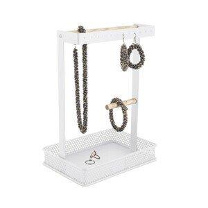 PRESENT TIME Bílý stojan na šperky Merge