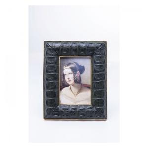 KARE DESIGN Sada 2 ks – Rámeček Croco Green 10×15 cm