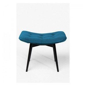 KARE DESIGN Tyrkysová stolička Black Vicky