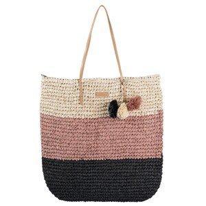 Letní plážová taška / kabelka  Pompon - 45*37 cm