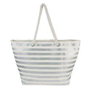 Nákupní/plážová taška Silver - 48*35*14 cm