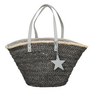 Šedá nákupní/plážová taška Andy grey - 55*30 cm
