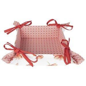 Košíček na pečivo Poppy Flower - 35*35*8 cm