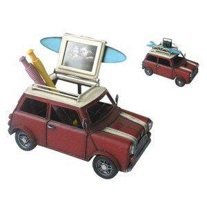 Kovový retro model auta s fotorámečkem - 20*12*11 cm