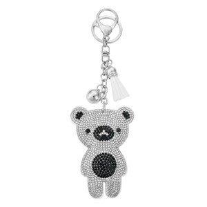 Přívěsek na klíče medvídek I