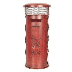 Kovový stojan na lahve - 22*22*51 cm