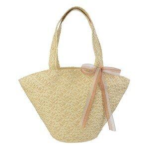 Plážová taška s mašlí - 48*31 cm