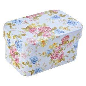 Plechová krabička / Šperkovnice - 7*5*4 cm