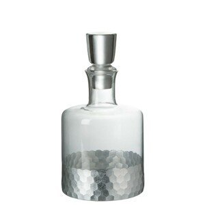 Dekantér se zátkou Silver - Ø 11,5*22,5 cm