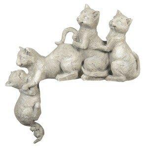 Dekorační sousoší Koťata - 47*13*51 cm