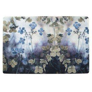 Podlahová rohožka květy Hortenzie - 75*50*1cm