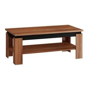 Konferenční stolek BETA, švestka/černý lesk