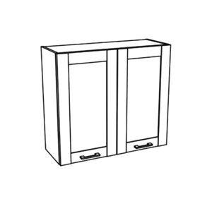 JAMAJKA horní skříňka G80, korpus dub wotan, dvířka dub wotan