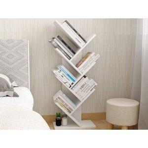 Knihovna BAKI NEW TYP 2, bílá
