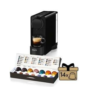 Kapslový kávovar Krups Nespresso Essenza Plus XN510810 černý