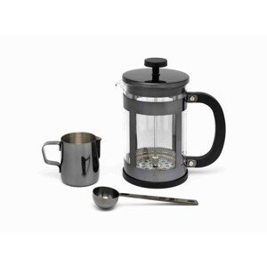 Sada na kávu Vicenza Shiny Leopold Vienna černá 3 ks