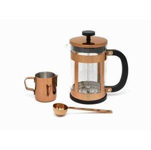 Sada na kávu Vicenza Shiny Leopold Vienna zlatá 3 ks