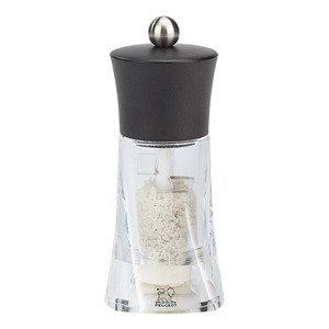 Mlýnek na vlhkou mořskou sůl OLERON čokoládová/akryl 14 cm Peugeot
