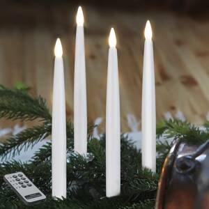 STAR TRADING LED vánoční svíčky dlouhé, čtyřdílné
