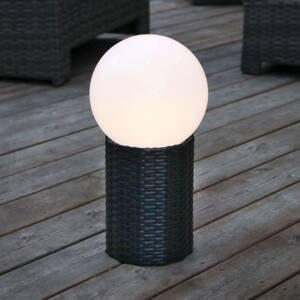 Best Season LED solární koule Lug s podstavcem, Ø 15 cm