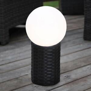 Best Season LED solární koule Lug s podstavcem, Ø 20 cm