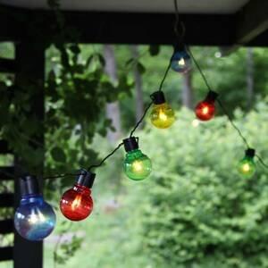 Best Season Barevný LED světelný řetěz Partaj, se 16 žárovkami