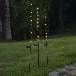 Best Season LED solární světlo Flexy, sada tří kusů