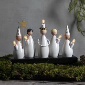 STAR TRADING Svíčkový lustr Lucia Choir